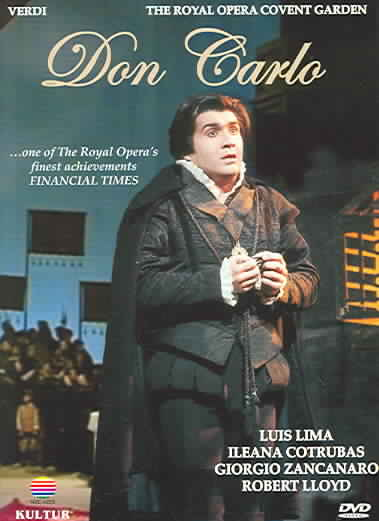 DON CARLO BY ROYAL OPERA (DVD)